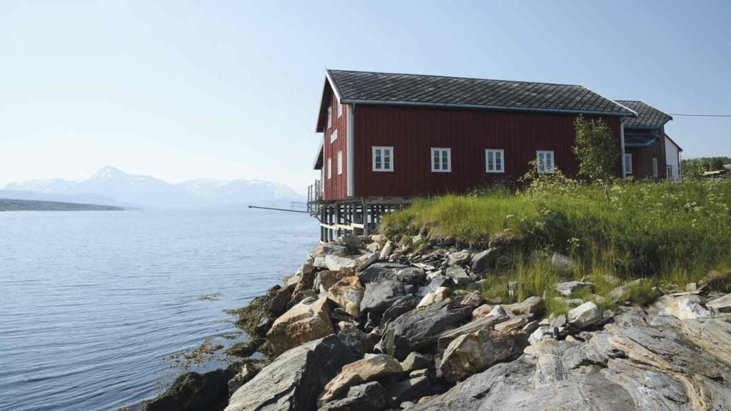 HANDELSSTEDET: Nordby på Malangshalvøya i Balsfjord kommune. Foto: Per Roger Lauritzen