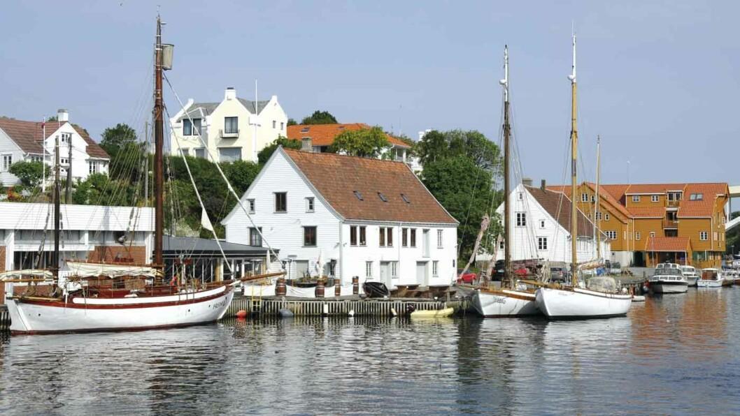 RIK PÅ FISKE: Det gode vårsildfisket og den trygge havna var viktig for bydannelsen av Haugesund. Foto: Per Roger Lauritzen