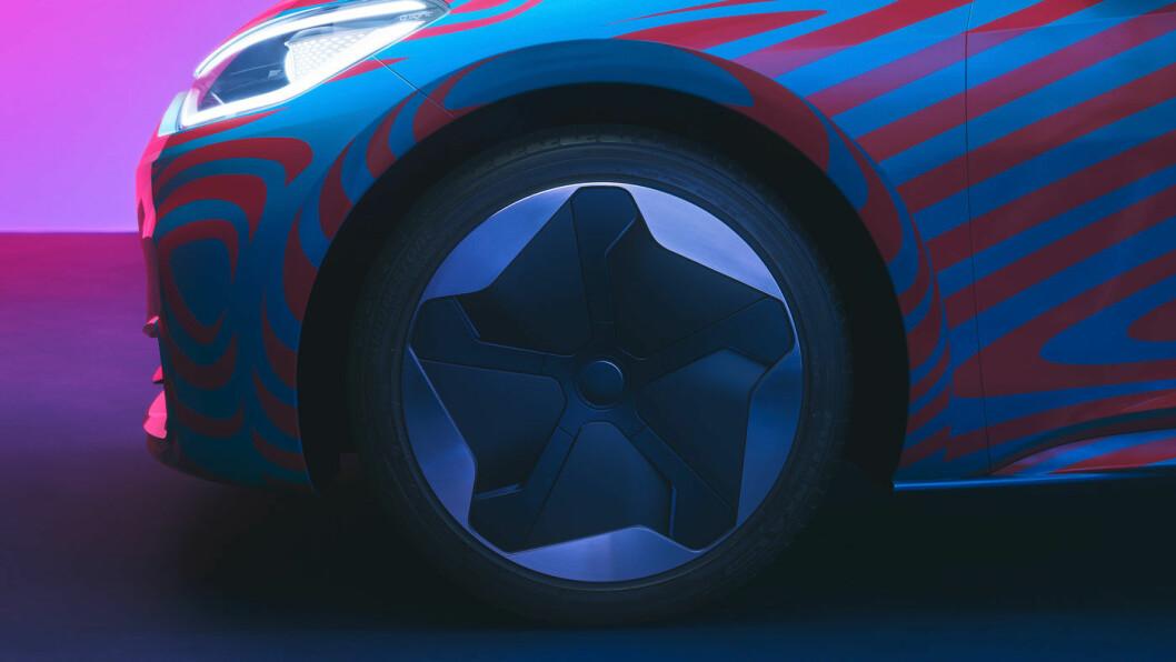 SALGSVINNER: Mye tyder på at Volkswagen ID.3 blir Norges mest solgte bil i løpet av et års tid. Men garantert ikke i disse fargene …