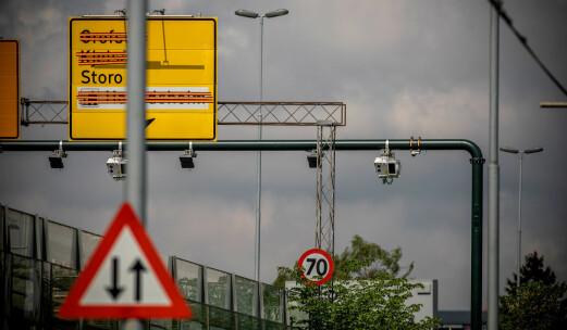 Trafikknedgang på 17 prosent gjennom Oslo-bommene