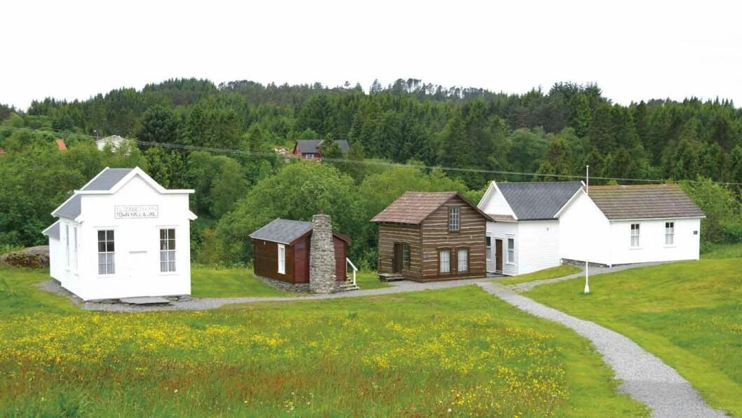 UTVANDRERMUSEET: Et lite stykke Amerika i Norge.