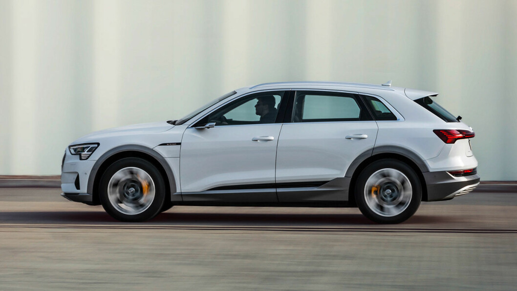 LILLEBROR: De første Audi e-tron 50 quattro-modellene kommer for levering før jul. Foto: Audi AG