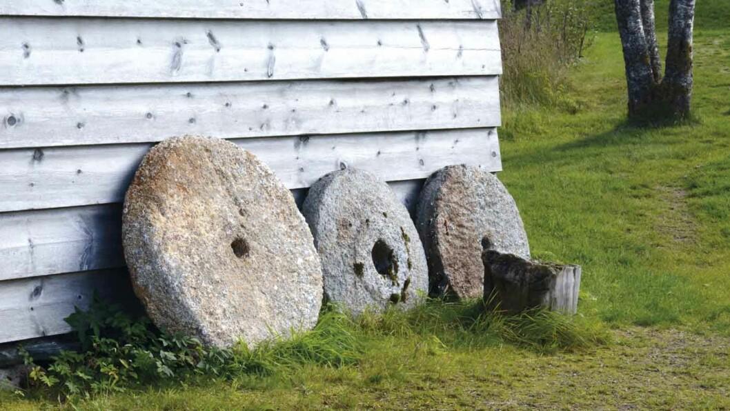 KVERNSTEINSBRUDDENE: Det eldste bruddet er datert til ca. år 700.