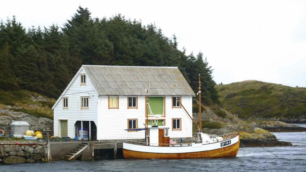 NORGES VESTLIGSTE FISKEVÆR: Buladnet er et gammelt sildefiskesentrum.
