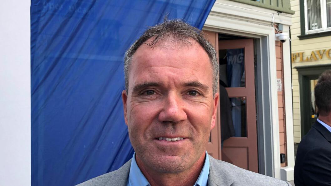 TROR PÅ VEIPRISING: – Ny teknologi vil komme på mange områder, også her, sier Ståle Hagen i rådgivningsfirmaet KPMG om veiprising. Foto: Geir Røed