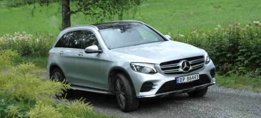 Mercedes GLC-kunder tilbys «ventepølse»