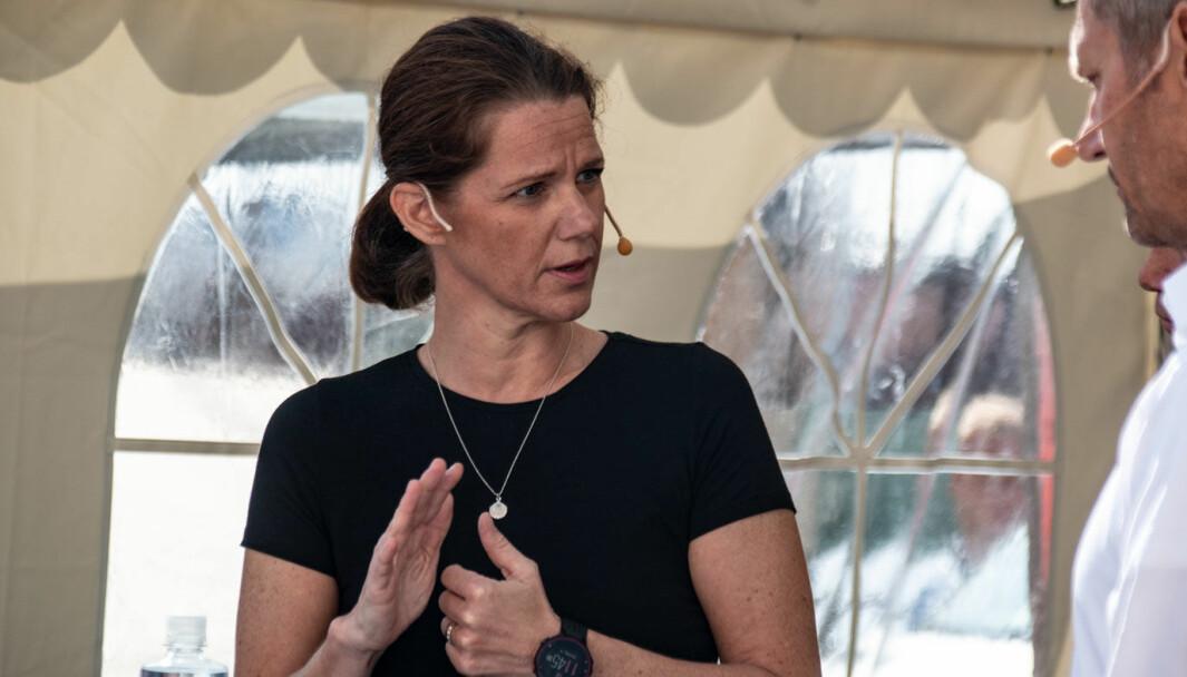 FRYKTER: Kommunikasjonssjef Camilla Ryste, NAF.