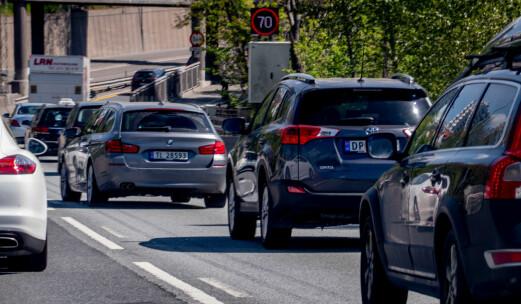 15.000 personbiler er uten forsikring