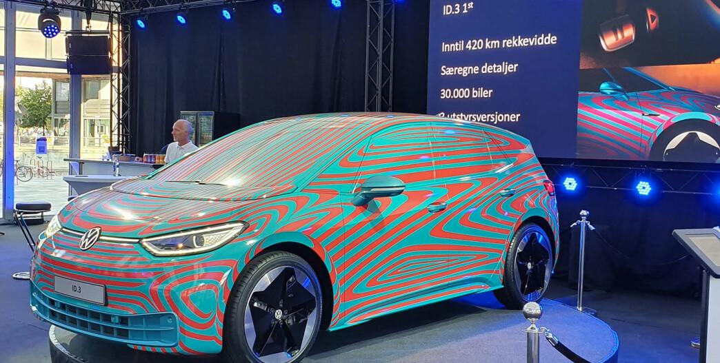 Prissjokk på VWs nye elbil