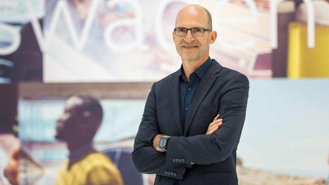EN NY ÆRA: Klaus Bishoff, sjefsdesigner hos Volkswagen.