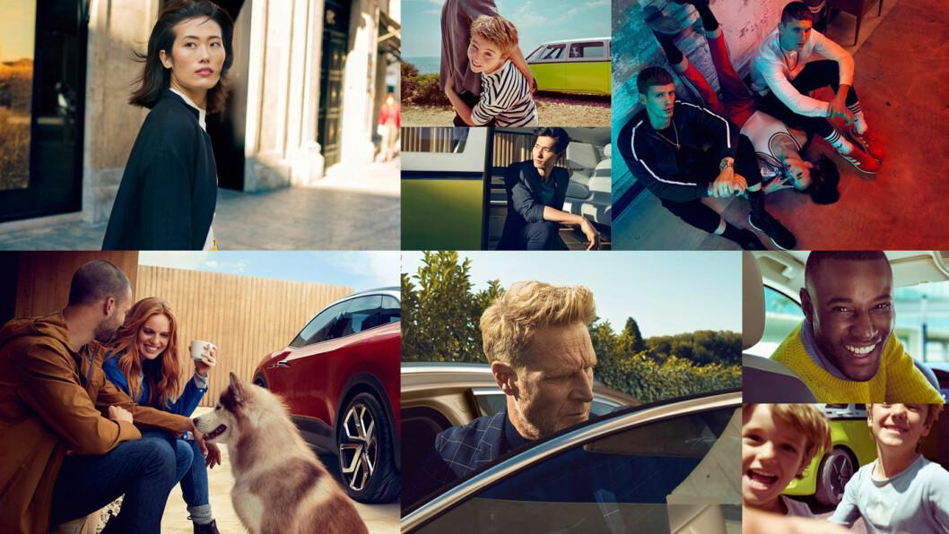 EIN BISCHEN VW: En liten smakebit på det nye reklamespråket hos verdens største bilprodusent – «mer menneskelige og livlige», lover de.
