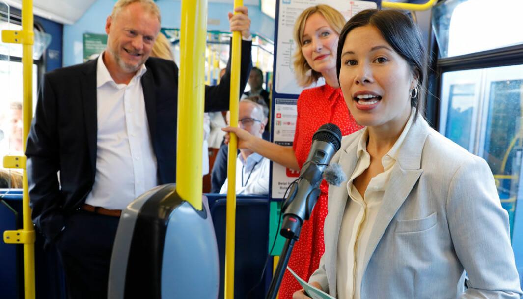MER I BOMMENE: MDGs Lan Marie Berg – som er toppkandidat for partiet i Oslo, vil gå til valg på å øke bompengeavgiften i storbyene betydelig for diesel- og bensinbiler.