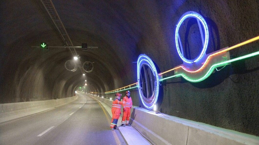 ENDELIG ÅPEN: Den storslagne Ryfylke-tunnelen gjør reisen mellom Stavanger og Ryfylke vesentlig enklere.