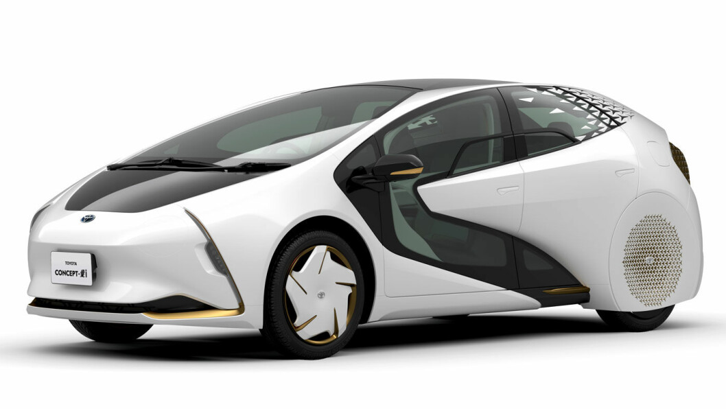 400 METER JEKK: Sommer-OL og Paralympics i Tokyo i 2020 vil bli et utstillingsvindu for elektrifiseringsprosessen hos Toyota. 90 prosent av kjøretøyflåten vil være elektrifisert – som denne Concept-i bilen som blant annet skal være ledebil på maraton.