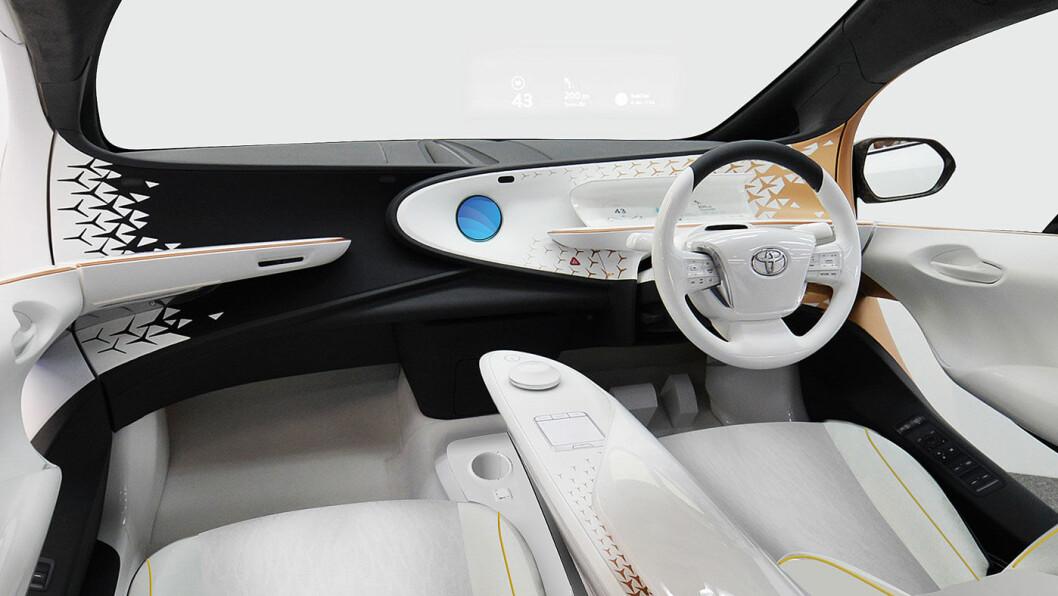 LEDEBIL: Interiøret i Concept-i.