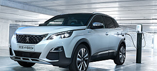 Ny Peugeot går 59 kilometer på strøm