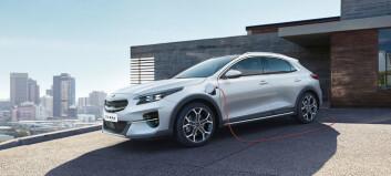 Kia utvider ledningsnettet med ladbare hybrider