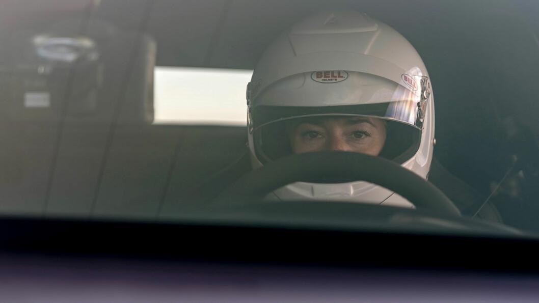 BAK RATTET: Racerkjøreren Shea Holbrooke.