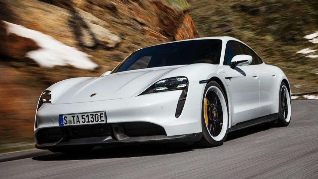 DYRERE: Porsche Taycan blir 200.000 kroner dyrere med Rødts forslag.