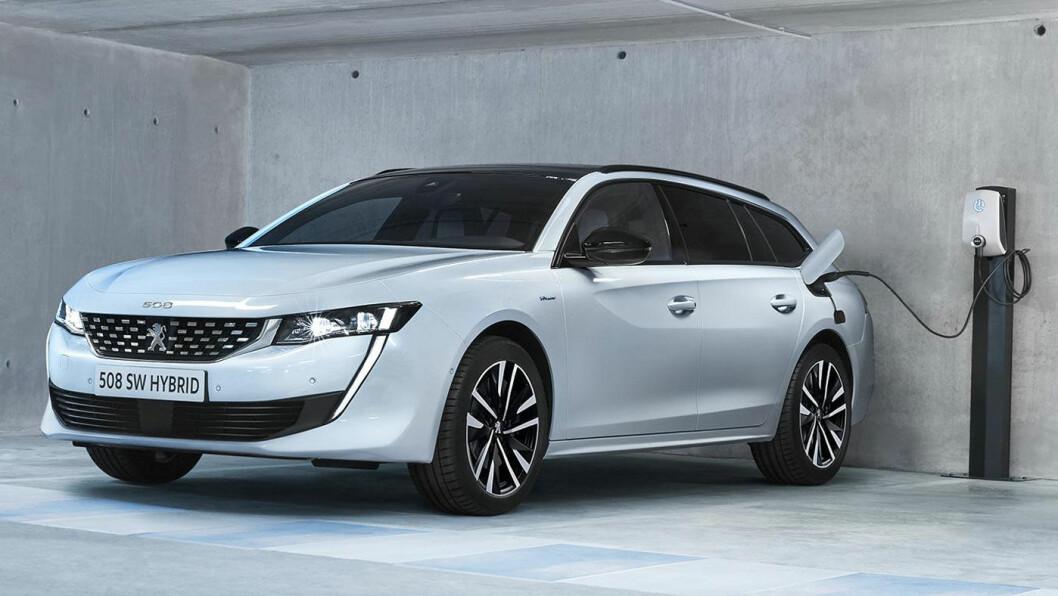 FRANSK HIT? Peugeot 508 SW som ladbar hybrid har forutsetninger for å treffe godt med ønskene til norske bilkjøpere.