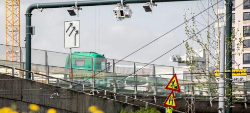 Ni prosent mindre trafikk gjennom bomringen i Oslo