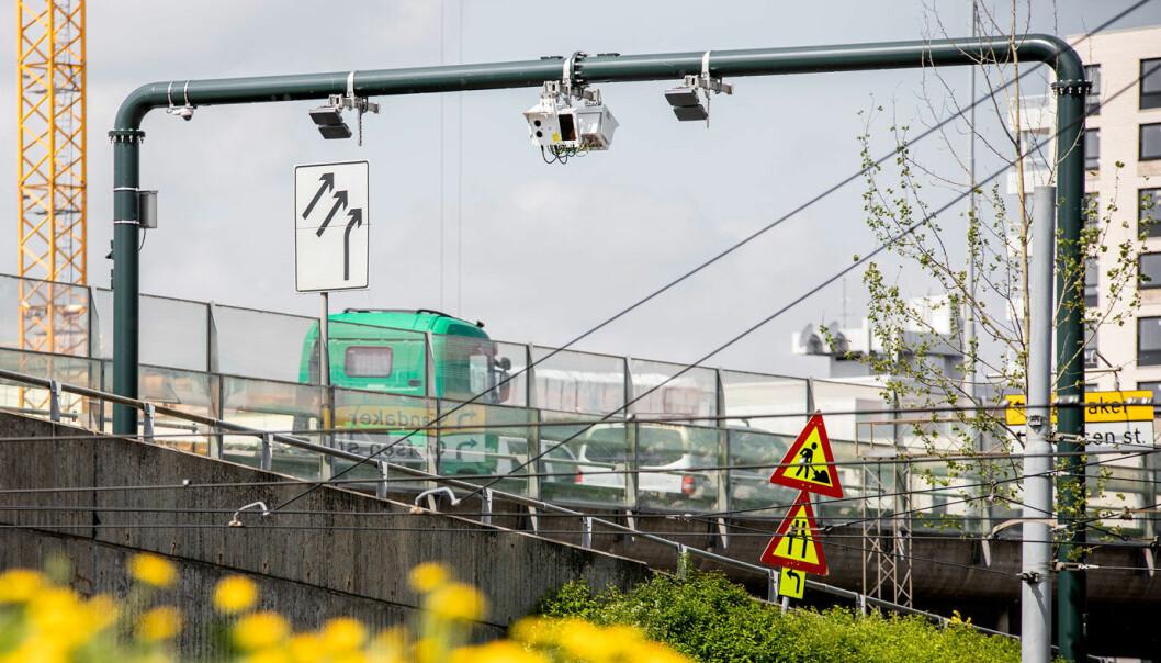 FÆRRE BILER: Trafikken i bomstasjonene i Oslo gikk i fjor ned nesten 9 prosent sammenlignet med 2019.