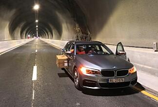 Klarer rekord-tunnelen den lille sjokoladepapir-testen?