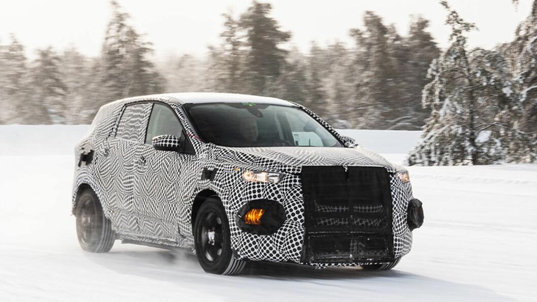 TÅLER MINUSGRADER: Ford forbereder en elektrisk SUV for antatt lansering i 2020.