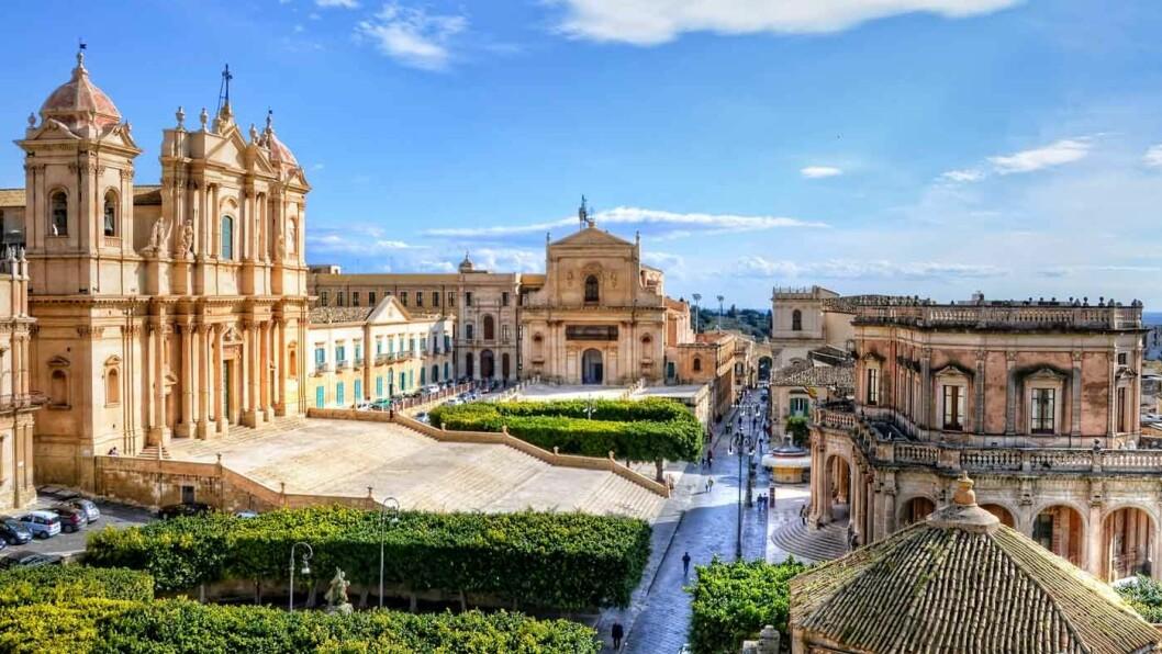 NOTO: Byen er kjent for sin spesielle barokkstil.