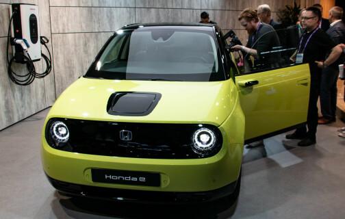 Honda e ruller ut mini-elbil