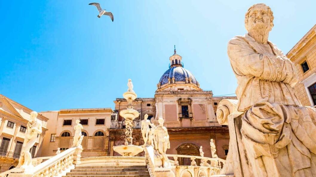 PALERMO: Hovedstaden på Sicilia og et av de mest populære reisemålene i Italia for tiden.