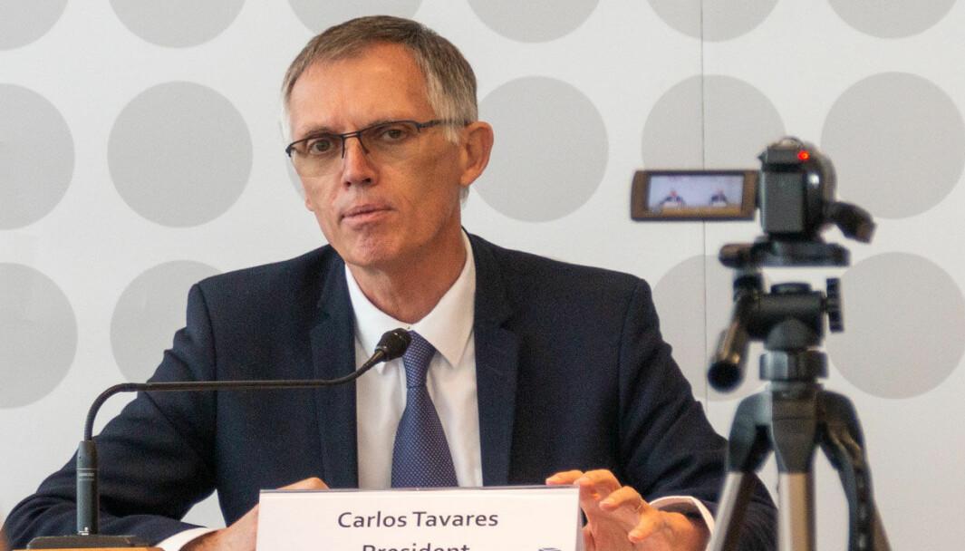 STILLER KRAV: Carlos Tavares er en av de mektigste og mest innflytelsesrike i den internasjonale bilindustrien.