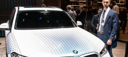 BMW varsler hydrogenbil i 2022