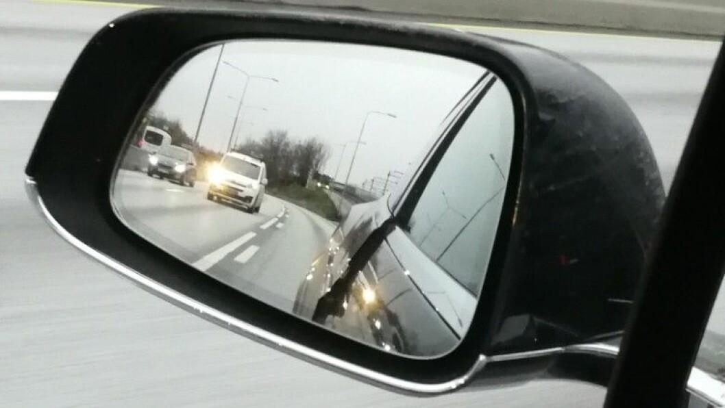 BLE REDD: Bileieren fikk sitt livs sjokk da dette skjedde. Foto: Adeel Saeed