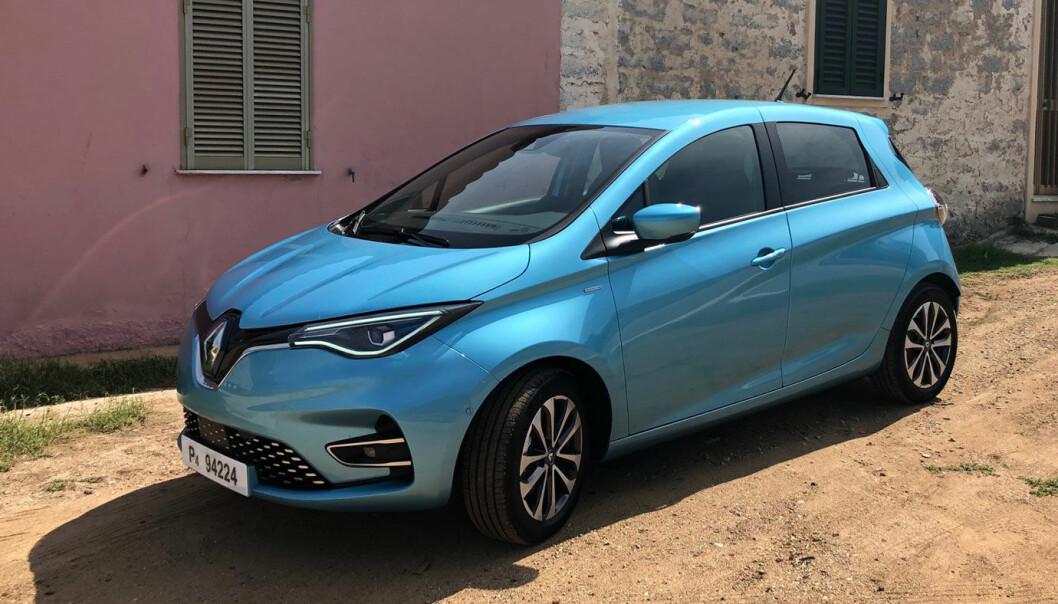 <b>PRISØKNING: </b>Renault selger omtrent bare Zoe i Norge. Nå stiger prisen med over 10 prosent.