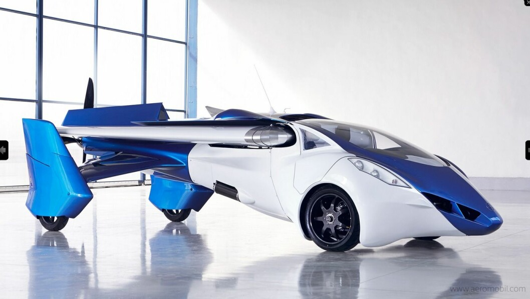 AEROMOBIL: AeroMobil har allerede vært på vingene flere ganger. Foto: AeroMobil