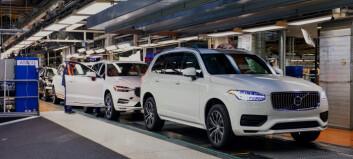 Uberlegen Volvo kjører av seg selv