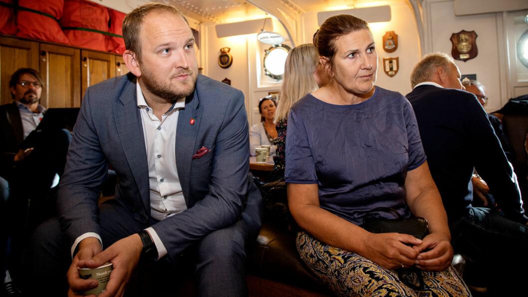 FAVORITT: Nye Veier-sjef Ingrid Dahl Hovland er blant favorittene når samferdselsminister Jon Georg Dale skal peke ut ny vegdirektør. Foto: Tomm W. Christiansen