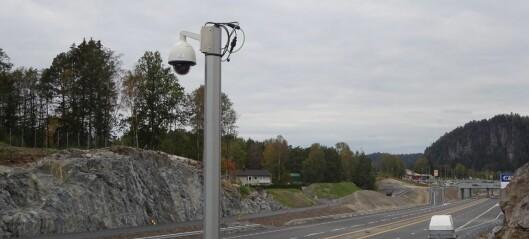 Ny E18 får full kameraovervåkning