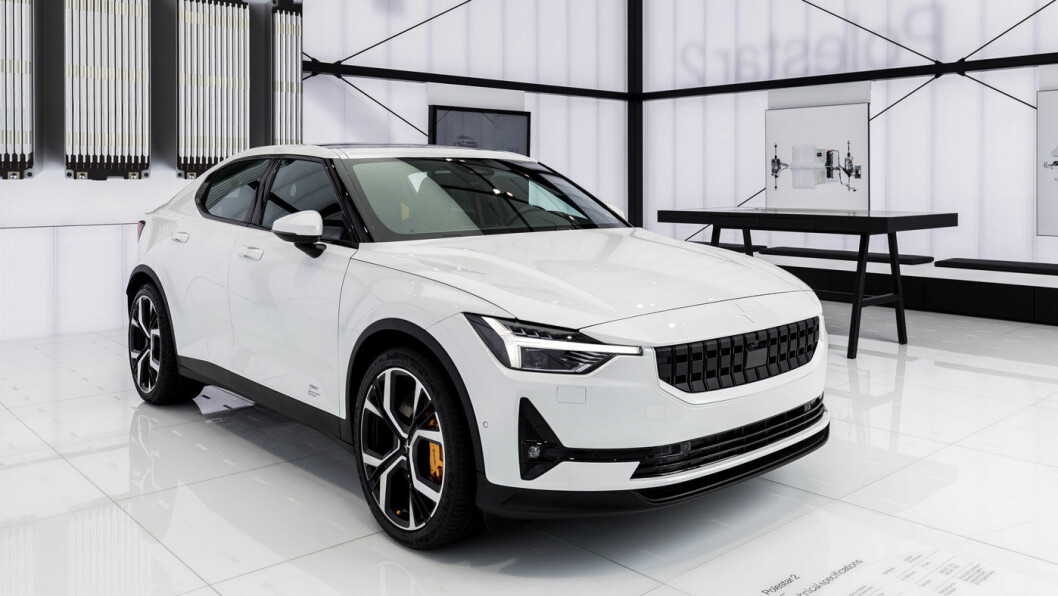 NYKOMMER: De færreste kjenner til bilmerket Polestar, men dette vil endre seg med den helelektriske versjonen som nå kommer for å konkurrere med primært Tesla Model 3.