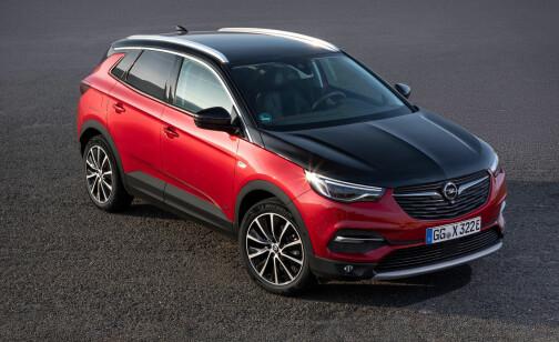 Hatten av for denne Opel'en!