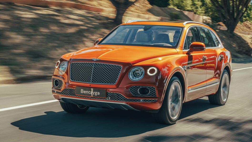 LADBAR LUKSUS: Bentley Bentayga ladbar hybrid er klar for norske veier fra midten av oktober. Luksus-SUV-en har en startpris på 2,1 millioner. Foto: Bentley Motors