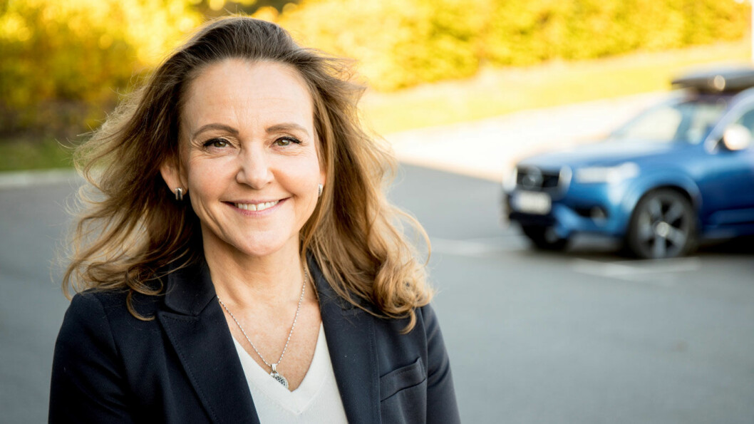 TAR OVER: – Vi gleder oss til lanseringen av helelektriske XC40, og til å introdusere den på det norske markedet. Det er en meget etterlengtet modell for våre kunder, våre forhandlere og oss i Volvo Car Norway, sier den nye Volvo-sjefen Rita Kristin Broch.