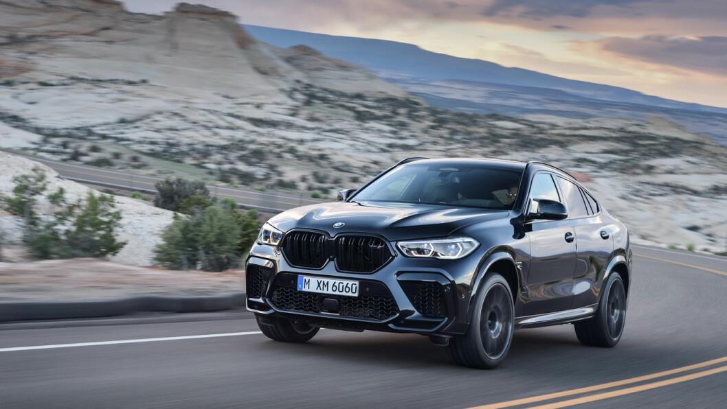 KJØREGLEDE: BMW X6 M.