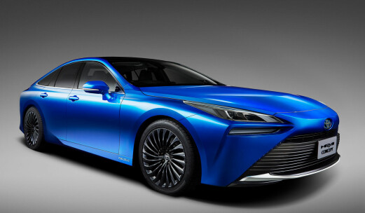 Toyota tar lekkert hydrogen-steg
