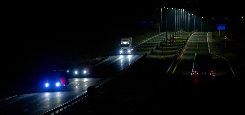 Tror du det er tryggest MED eller UTEN lys?