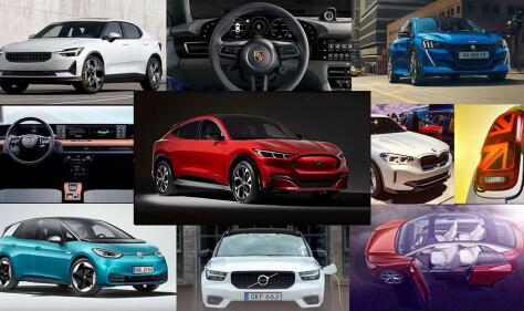 Disse 10 elbilene gleder vi oss mest til