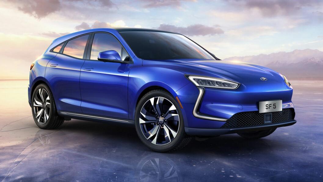 KINA-LUKSUS: Modellene fra Seres skal ha ytelse og rekkevidde som skal konkurrere med de mer eksklusive elbilene.