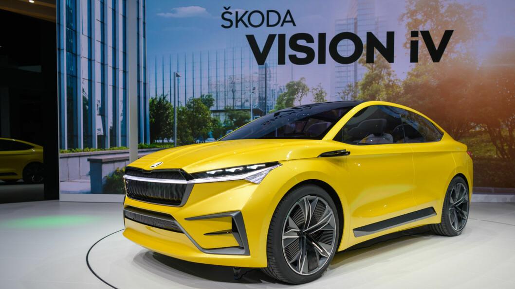 FORVENTNING: Skodas store gjennombrudd på elbilmarkedet, blir denne SUV-en, foreløpig kalt «Vision».