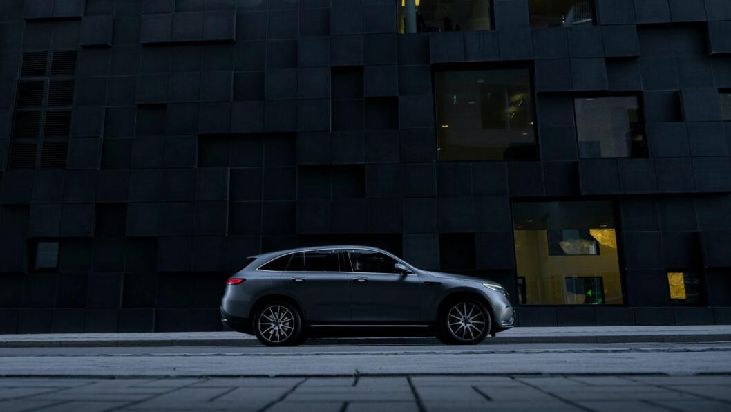 BEHAGELIG: Mercedes er en usedvanlig behagelig bil i daglig bruk. Ingen elbil gir deg mer komfort for pengene i dag. Foto: Jon Terje Hellgren Hansen
